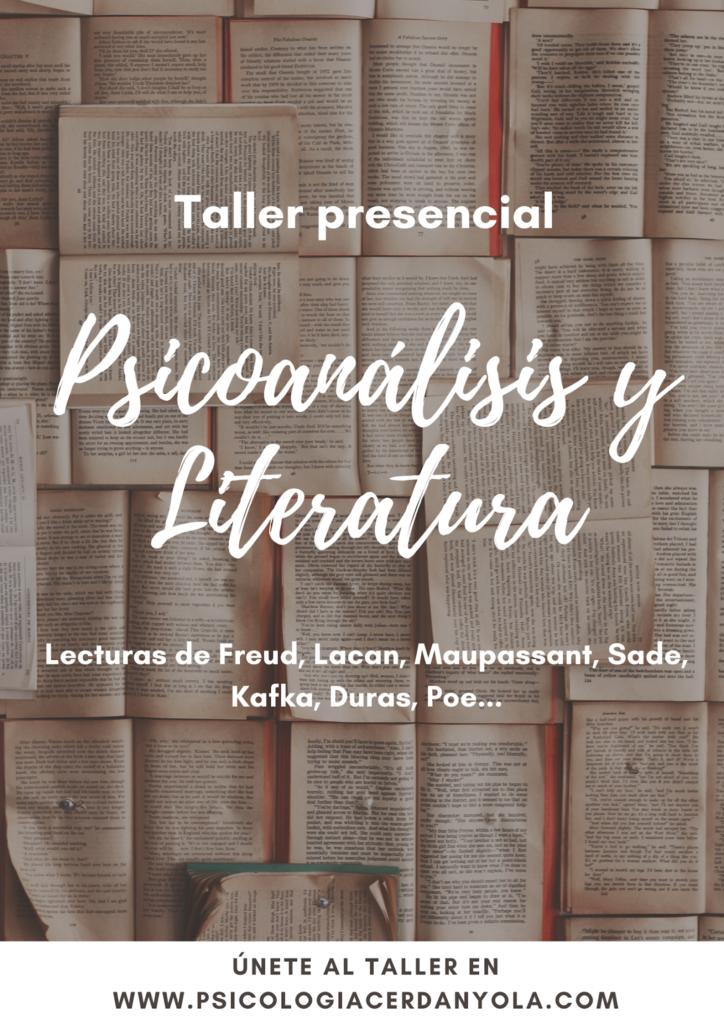 Taller psicoanálisis y Literatura